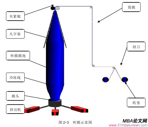 图 2-3 吹膜示意图